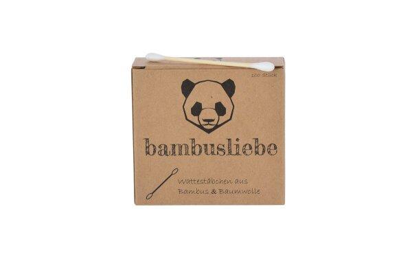 Bambus Wattestäbchen Bambusliebe