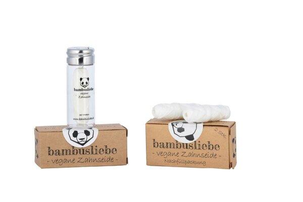 Vegane Zahnseide Bambusliebe