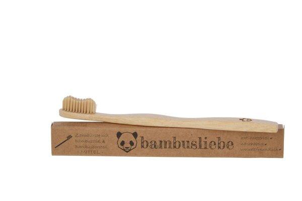 Zahnbürste mittel Bambusliebe