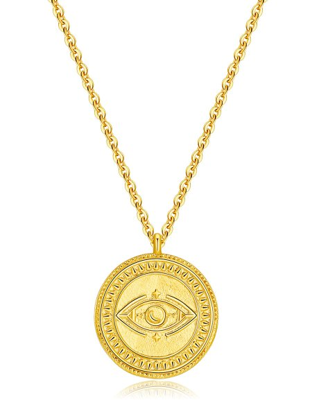 Moon and Star Kette Gold ICRUSH