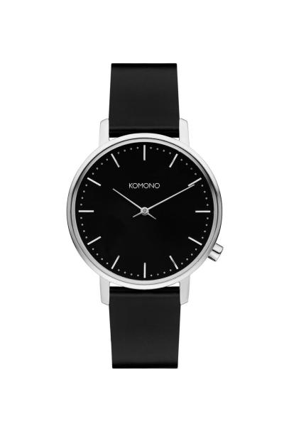 Armbanduhr Komono Harlow Black Silver