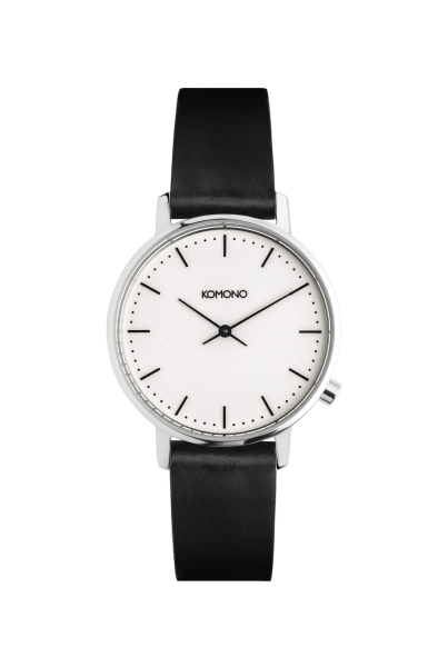 Armbanduhr Komono Harlow Black White