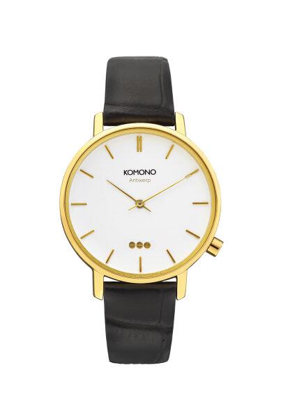Armbanduhr Komono Harlow Croco Black
