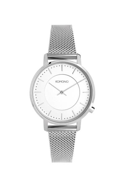 Armbanduhr Komono Harlow Silver Mesh