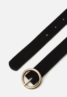 Gürtel Pieces PCBonna Black/Gold Buckle