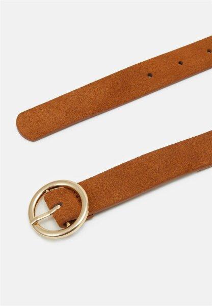Gürtel Pieces PCBonna Cognac/Gold Buckle