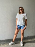 T-Shirt Pieces PCEfifi SS Tee Bright White/Small Noodle