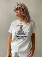 T-Shirt Pieces PCEfifi SS Tee Bright White/Big Noodle