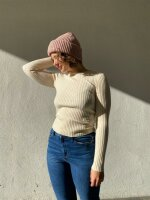Pullover Pieces PCCrista LS O-Neck Knit Birch