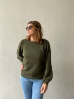 Pullover Object ObjEve Nonsia Knit Forest Night/Melange