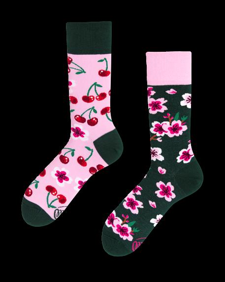 Socken Many Mornings Cherry Blossom