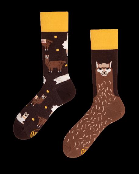 Socken Many Mornings Fluffy Alpaka