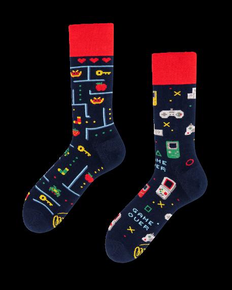 Socken Many Mornings Game Over