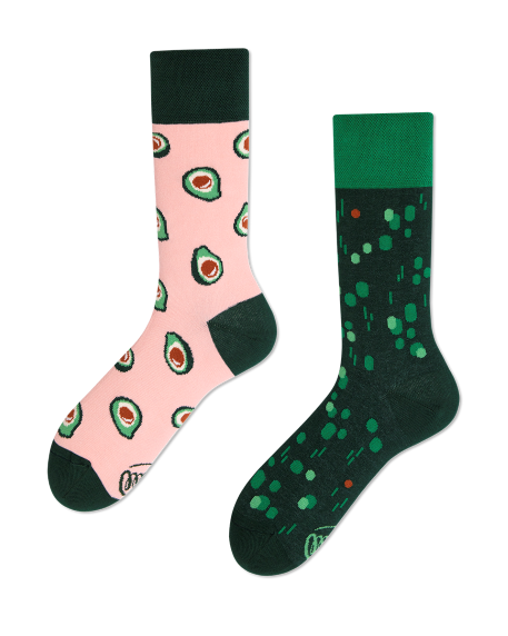 Socken Many Mornings Green Avocado