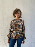 Bluse Freequent FQSIGNE-SH Chambray Blue Mix